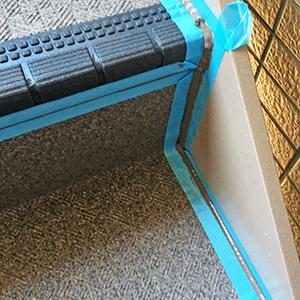 階段 シーリング補修 シールテック